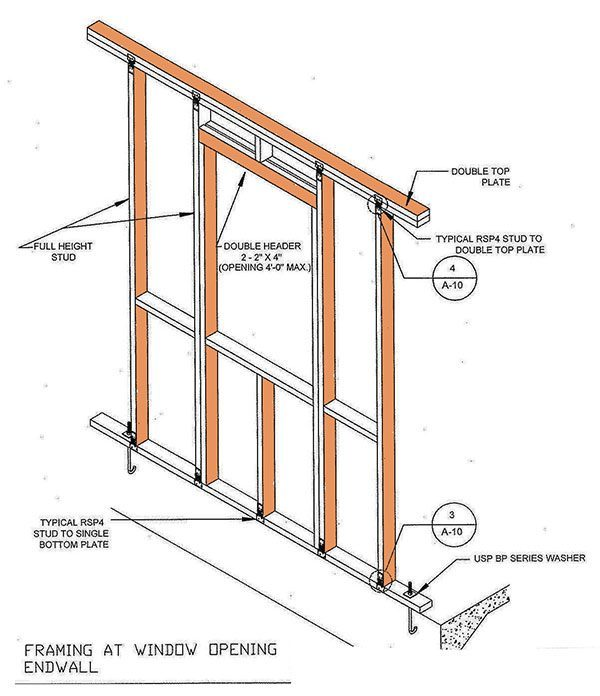 10×10 Storage Shed Plans & Blueprints For Gable Shed
