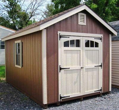 10 12 Storage Shed Plans Blueprints For Constructing A Beautiful Shed