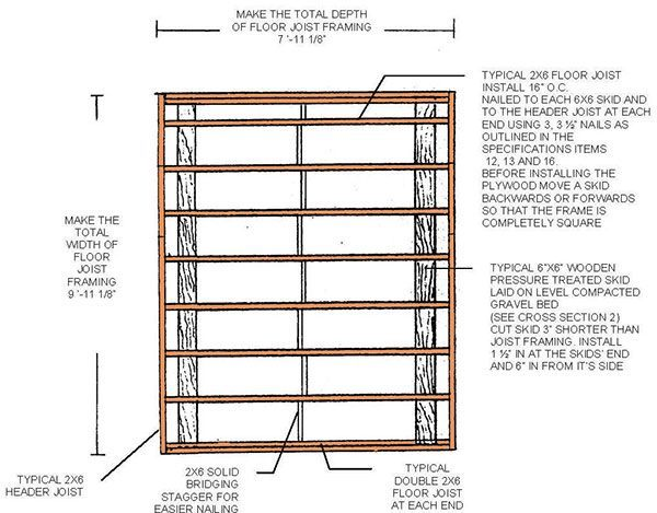 8×10 Lean To Shed Plans & Blueprints For A Durable Slant-Roof Shed